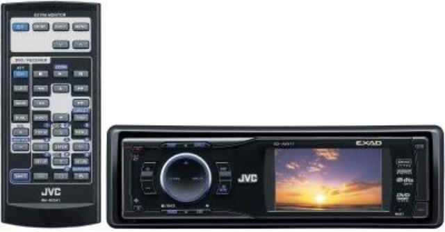 Car Video JVC KD-AVX11
