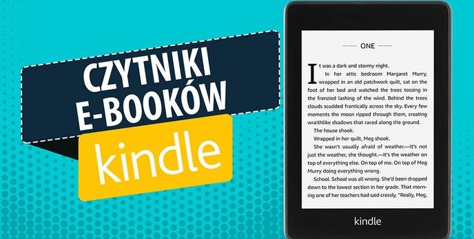 Czytniki e-booków Kindle |TOP 4|