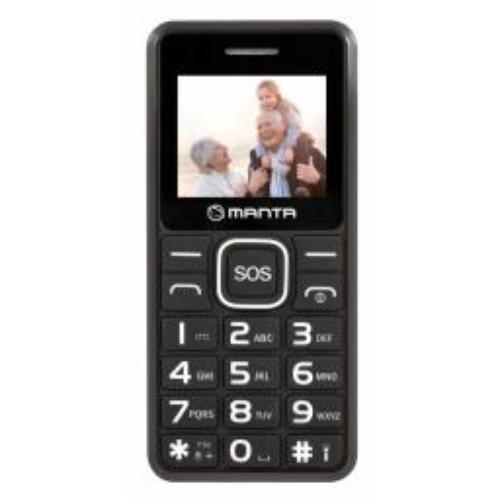 Telefon komórkowy Manta Multimedia TEL1707 Senior Czarny