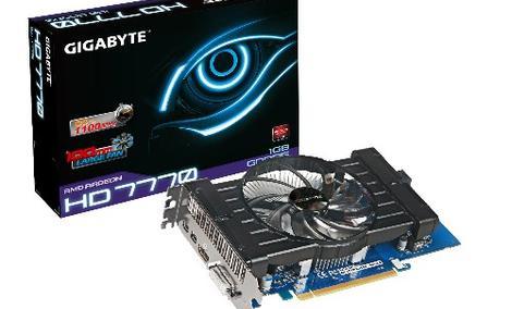 Gigabyte AMD Radeon HD7770OC rozpakowanie