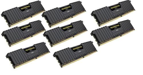 Corsair DDR4 Vengeance LPX 64GB/2400 (8*8GB) CL14-16-16-31