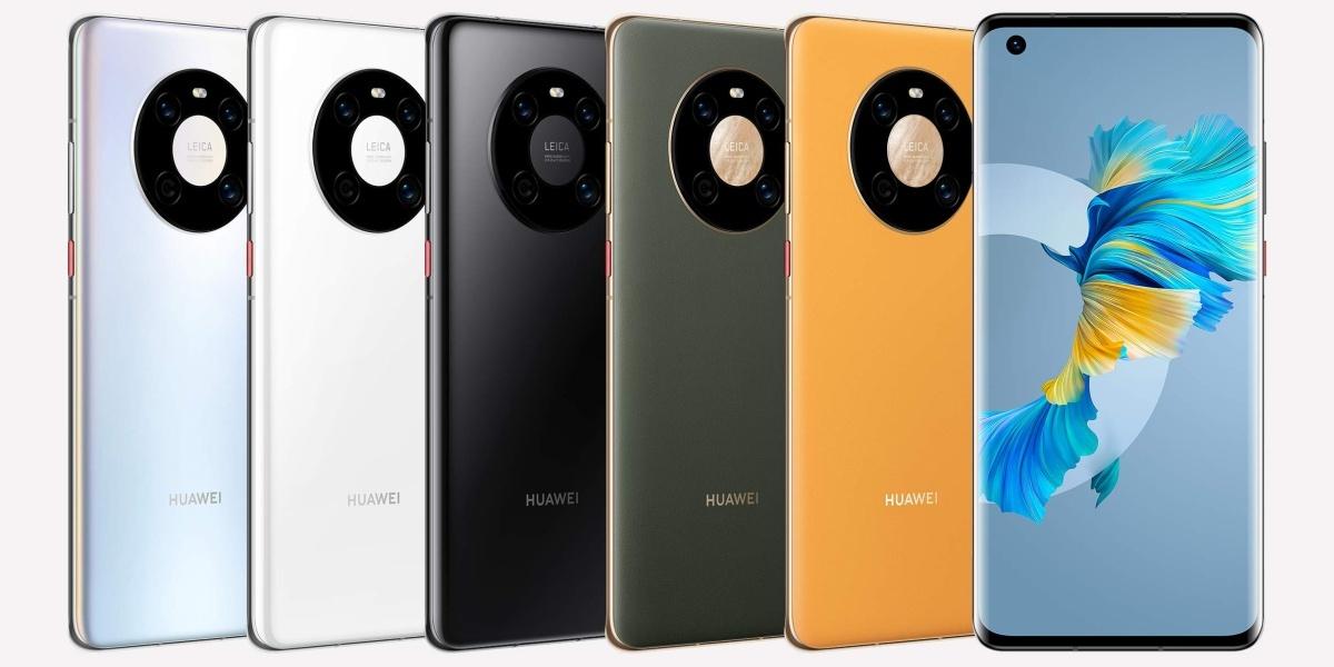 Wygląd i opcje kolorystyczne Huawei Mate 40