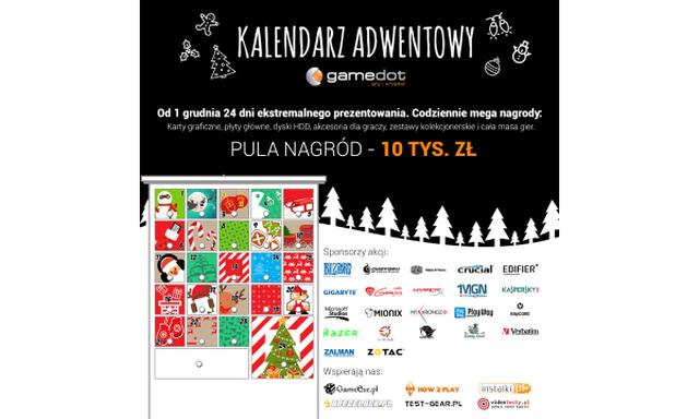 Gamedot i Kalendarz Adwentowy - Cała Masa Nagród Już od Dziś!