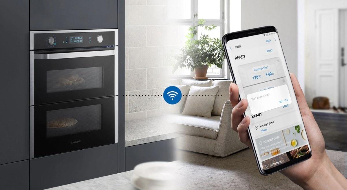Samsung Dual Cook Flex sterowanie Wi-Fi