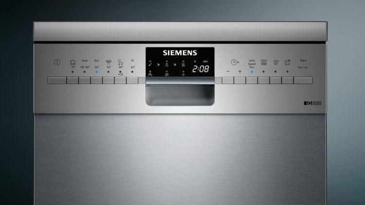 Siemens iQ500speedMaticSR256I00TE panel sterowania
