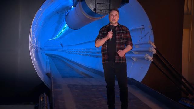 Elon Musk pokazał Hyperloop w miejscu jego wybudowania