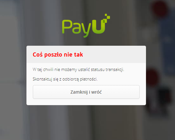 skleptus.pl - brak płatności PayU