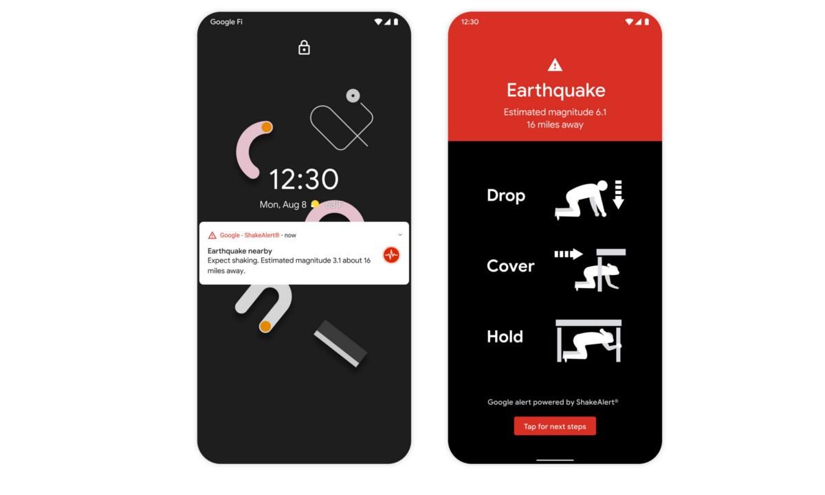 System ostrzegania Google pozwoli uchronic miliony ludzi przez trzęsieniami ziemii