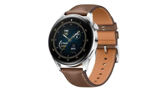 Huawei Watch GT3 w skórzanym wariancie