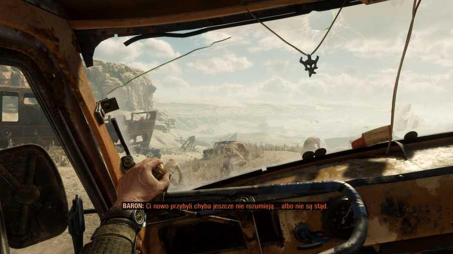 Metro Exodus - Sceneria jak z Mad Maxa