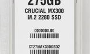 Crucial MX300 275GB M.2 (CT275MX300SSD4)