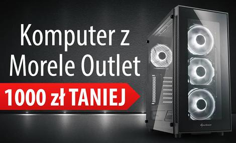 Komputer za 3050 zł z Morele Outlet - GTX 1060 6GB za 999 zł!