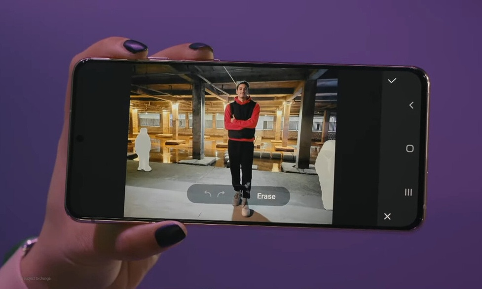 AI Samsunga Galaxy S21 wymaże niechciane osoby ze zdjęć