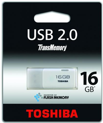Toshiba Hayabusa 16GB USB 2.0 Biały