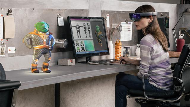 Hololens od Microsoft