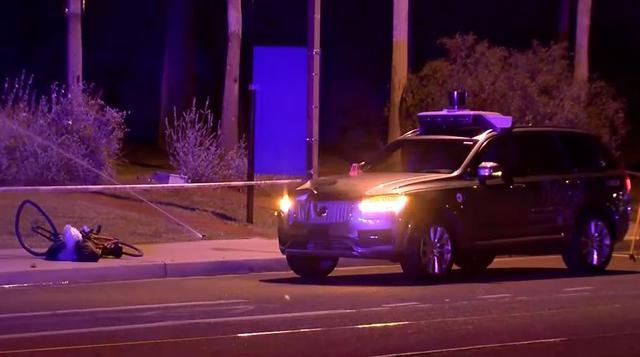 Uber niewinny - Autonomiczne Volvo nie zawiniło