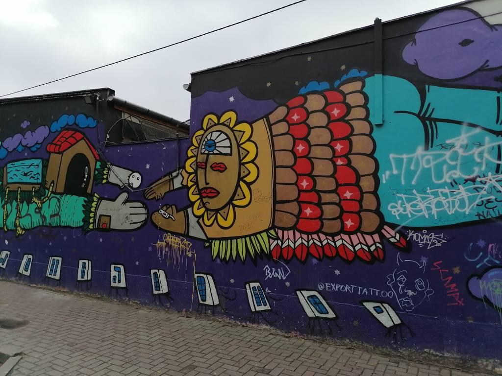 Huawei P Smart Z - zdjęcie muralu w trybie automatycznym