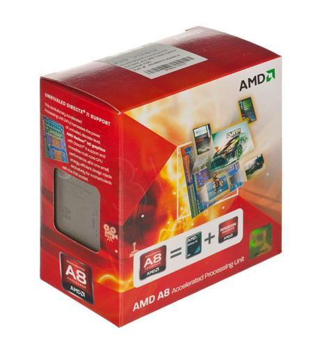 AMD APU X4 A8-3820 2.5GHz BOX (FM1) (65W)
