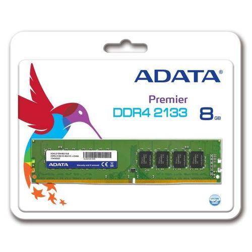 A-Data Premier DDR4 2133 DIMM 8GB CL15 Single Tray