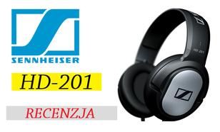 Sennheiser HD 201 - niezłe słuchawki na każdą kieszeń!