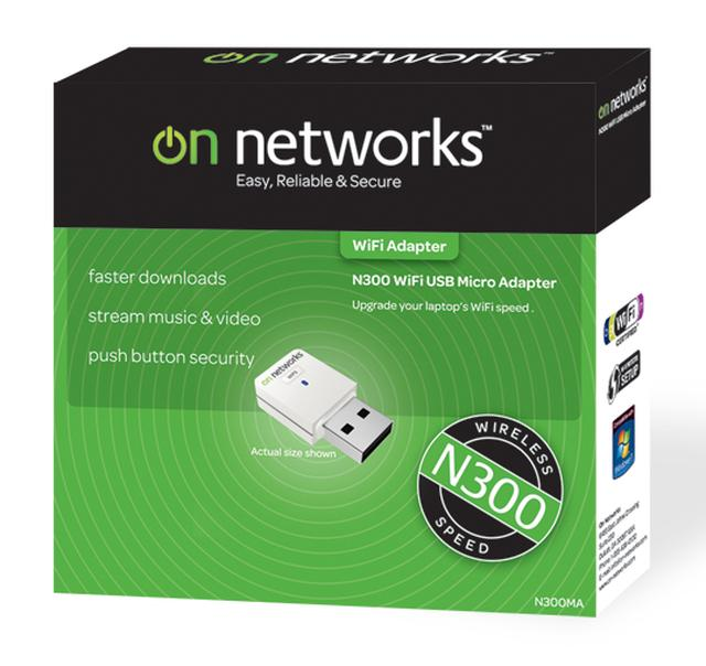 On Networks karta sieciowa WiFi Micro USB N300 [UNBOXING]