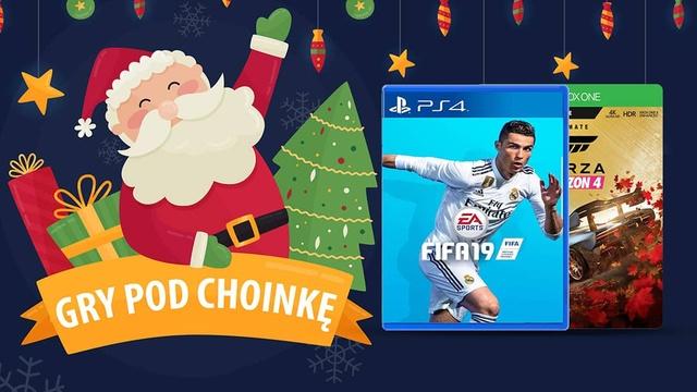 Gry pod choinkę 🎄 Świąteczny prezent dla posiadaczy PC i konsol |2018|