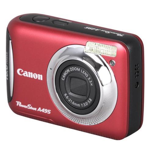 CANON PowerShot A495 (CZERWONY)