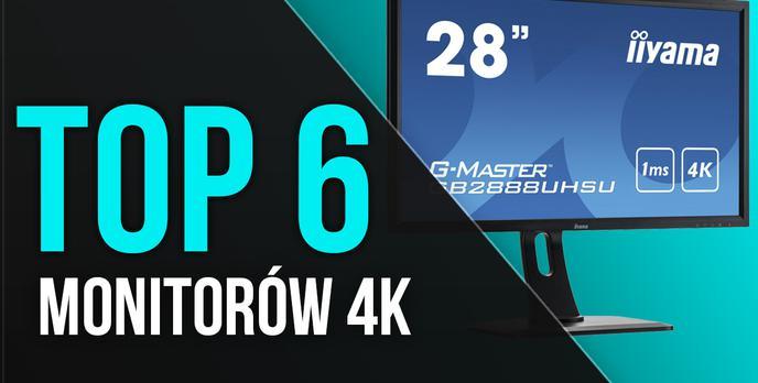 TOP 6 Monitorów 4K - Najwyższa Jakość Obrazu