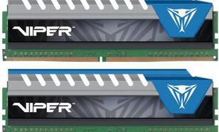 Patriot Viper ELITE DDR4 2x4GB, 2666MHz, CL16 (PVE48G266C6KBL)