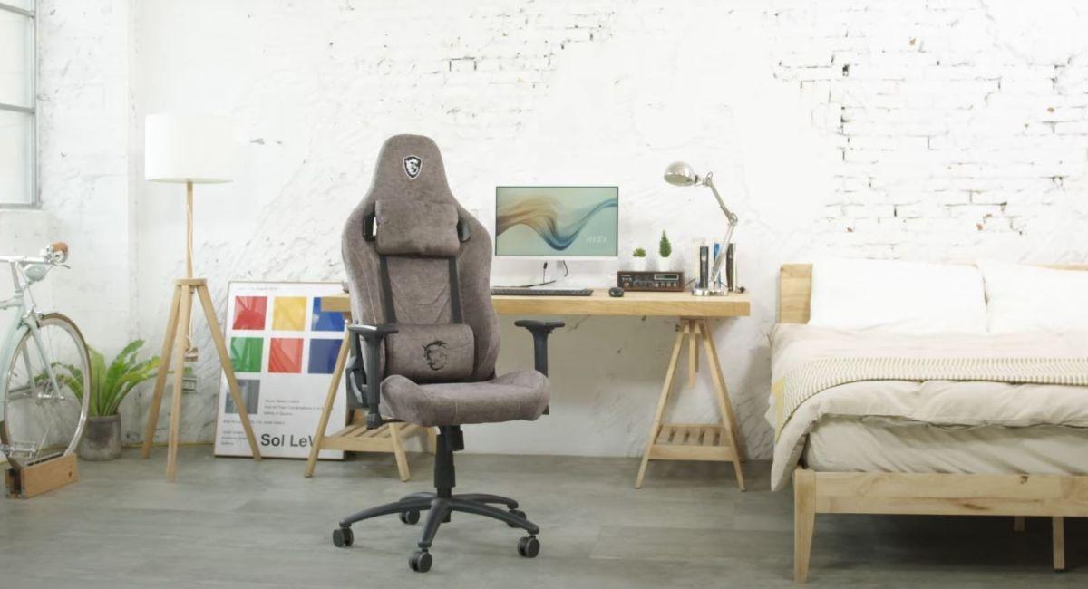 Design fotela MSI MAG CH130