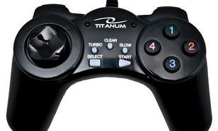 TITANUM GAMEPAD TG105 Przewodowy USB DO PC