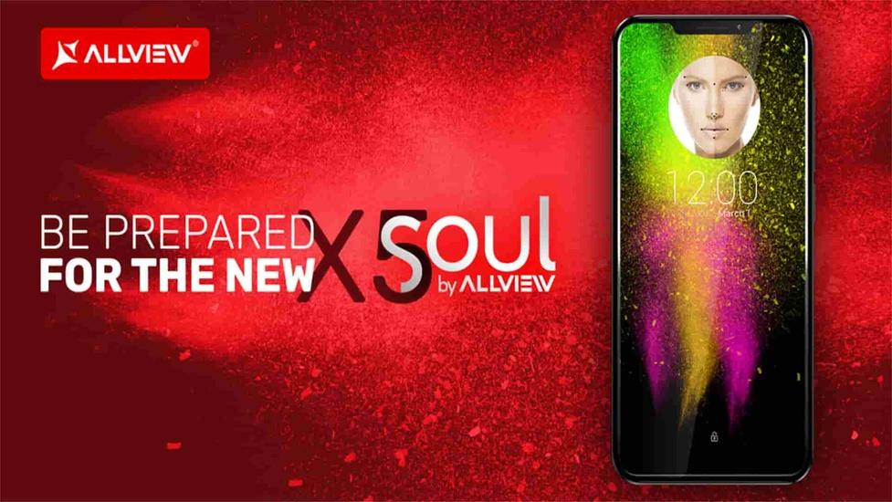 Allview X5 Soul - Pierwszy smartfon z detekcją twarzy!