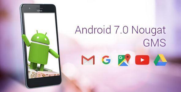 myPhone City na Androidzie 7.0