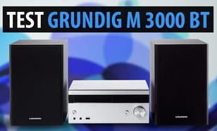 Test miniwieży Grundig M 3000 BT - Powrót legendarnej marki