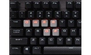 Corsair Gaming K70 RGB RAPIDFIRE Mechanical Keyboard RED