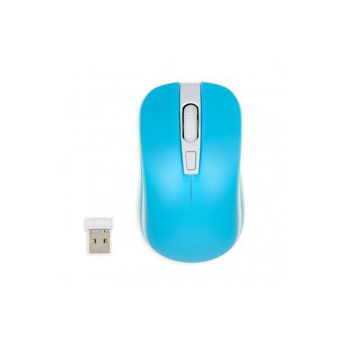 I-BOX bezprzewodowa optyczna Loriini Blue 1600dpi niebiesko-biała