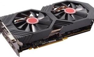 XFX RX 580 8GB GTR Black Edition Crimson 1386/8100 (3x DP HDMI DVI)
