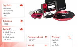 "Kingston SSD V300 SERIES 60GB SATA3 2,5"" 450/450MB/s 7mm Bundle Kit"