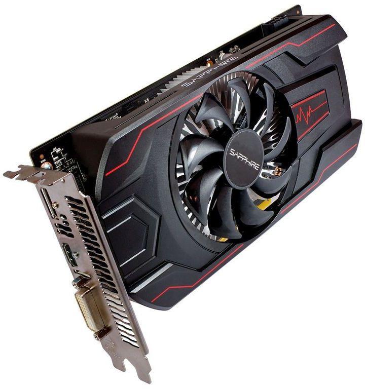 Sapphire Radeon RX 560 Pulse 4GB GDDR5 (128 bit), DVI-D, HDMI,