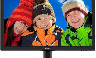 Philips 23.6'' 243V5QHABA MVA DVI HDMI i