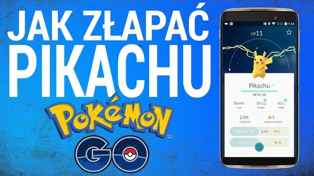 Jak Złapać Pikachu w Pokemon GO?! [PORADNIK]
