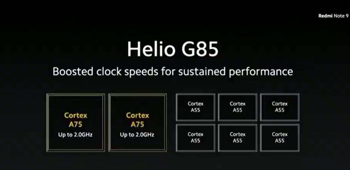 Helio G85 to nowa jednostka, która ma być dobra także do gier
