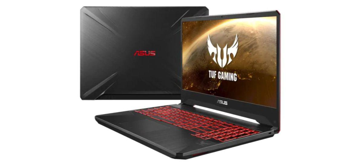 ASUS TUF Gaming FX505 - tani laptop dla graczy na AMD