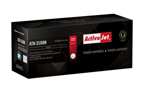 ActiveJet ATH-310AN czarny toner do drukarki laserowej HP (zamiennik 126A CE310A) Premium
