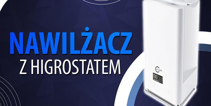 Test Carruzzo K444Z - Nawilżacz powietrza z higrostatem