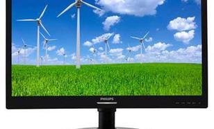Philips 21.5'' 221S6LCB LED DVI Pivot Czarny
