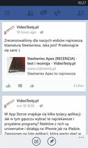 Windows Phone 8 facebook 2