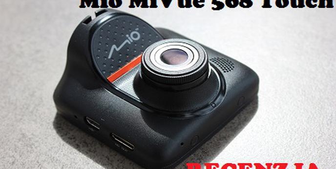 Mio MiVue 568 Touch - Wideorejestrator z Dotykowym Ekranem