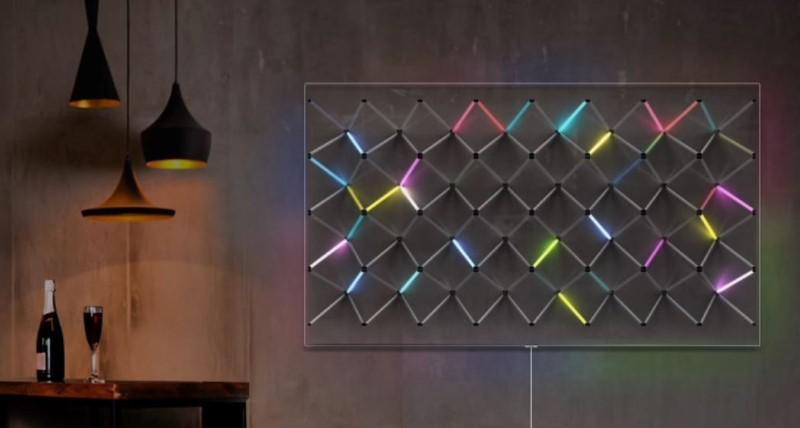 Tryb ambient mode wkomponuje telewizor w salon