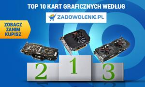 TOP 10 Kart Graficznych według Zadowolenie.pl - Zobacz Zanim Kupisz!